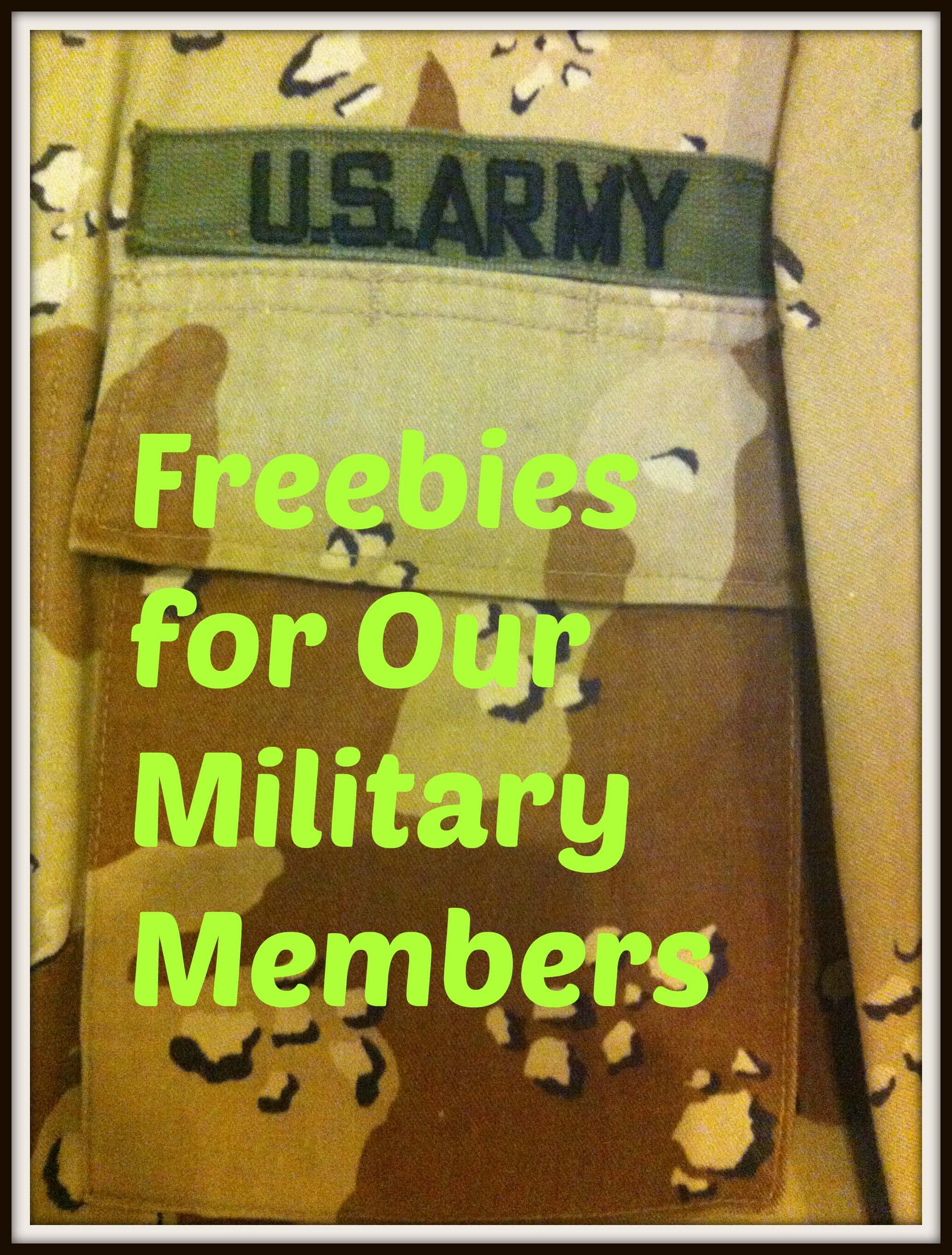 Military freebies