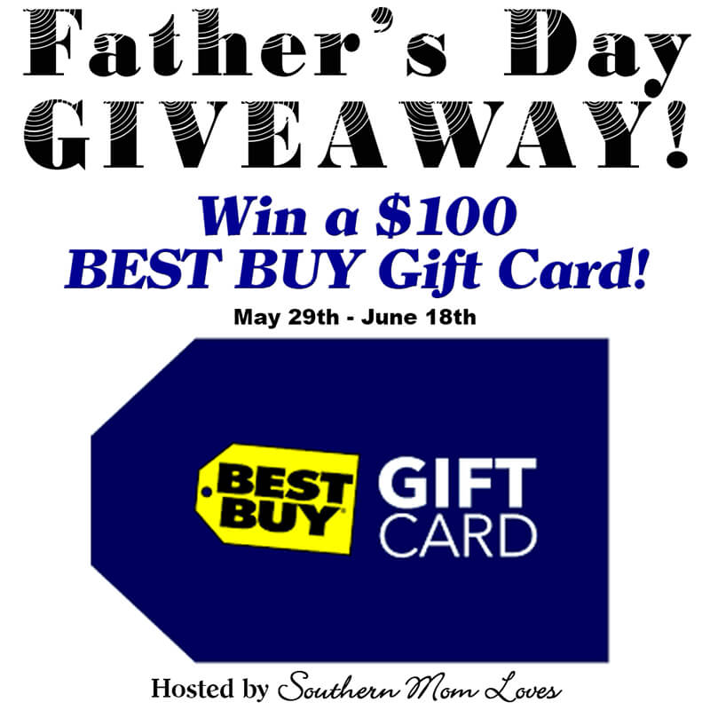 Best Buy Gift Card Father's Day Giveaway