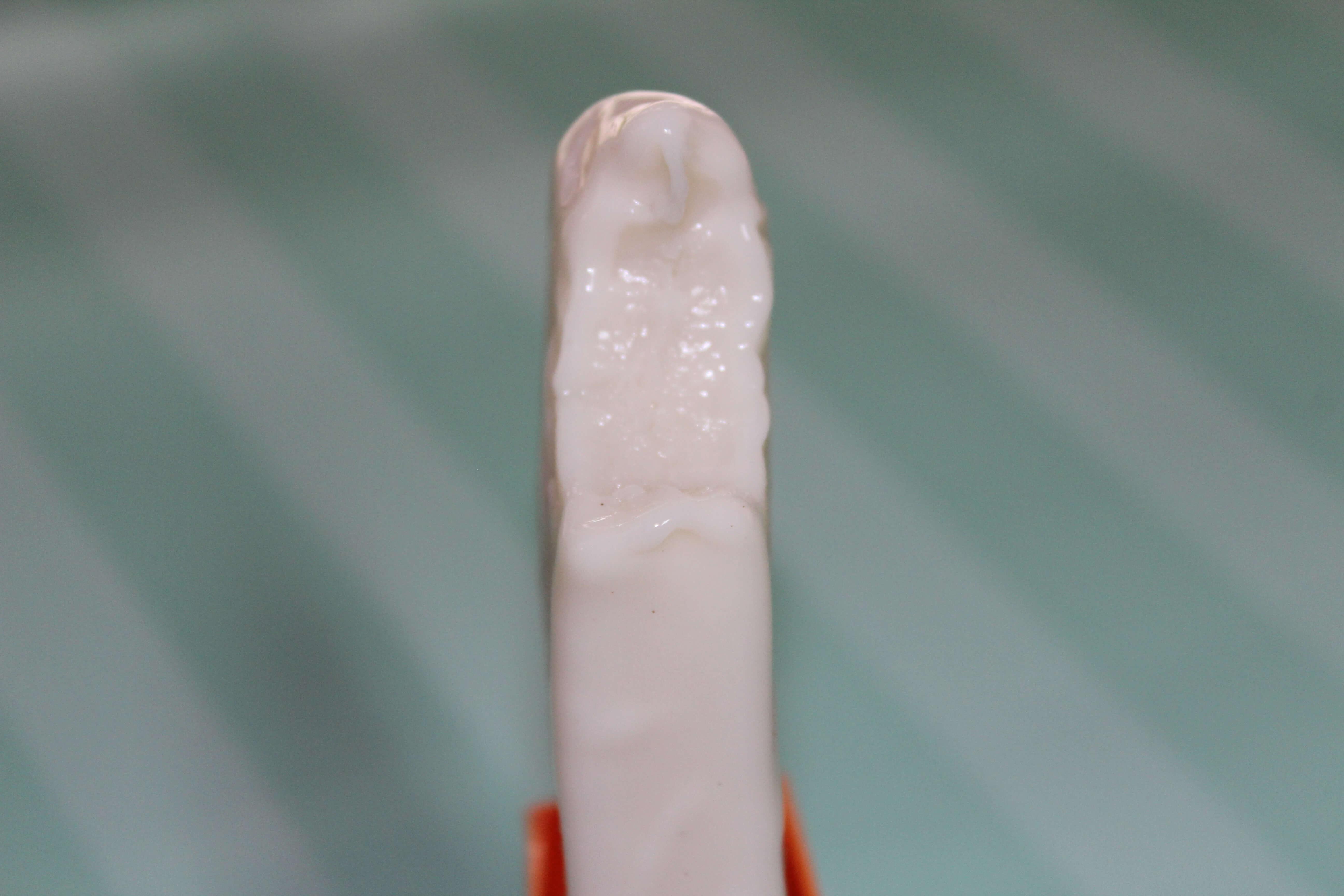 white chocolate fudge pops