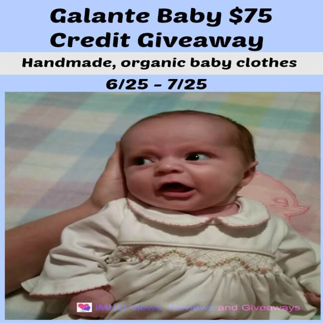 e05108768 Galante Baby Giveaway Ends July 25  ENDED