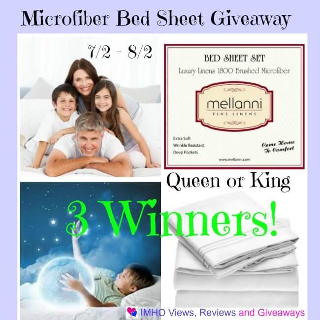 Microfiber ##Mellanni Bed Sheet #Giveaway
