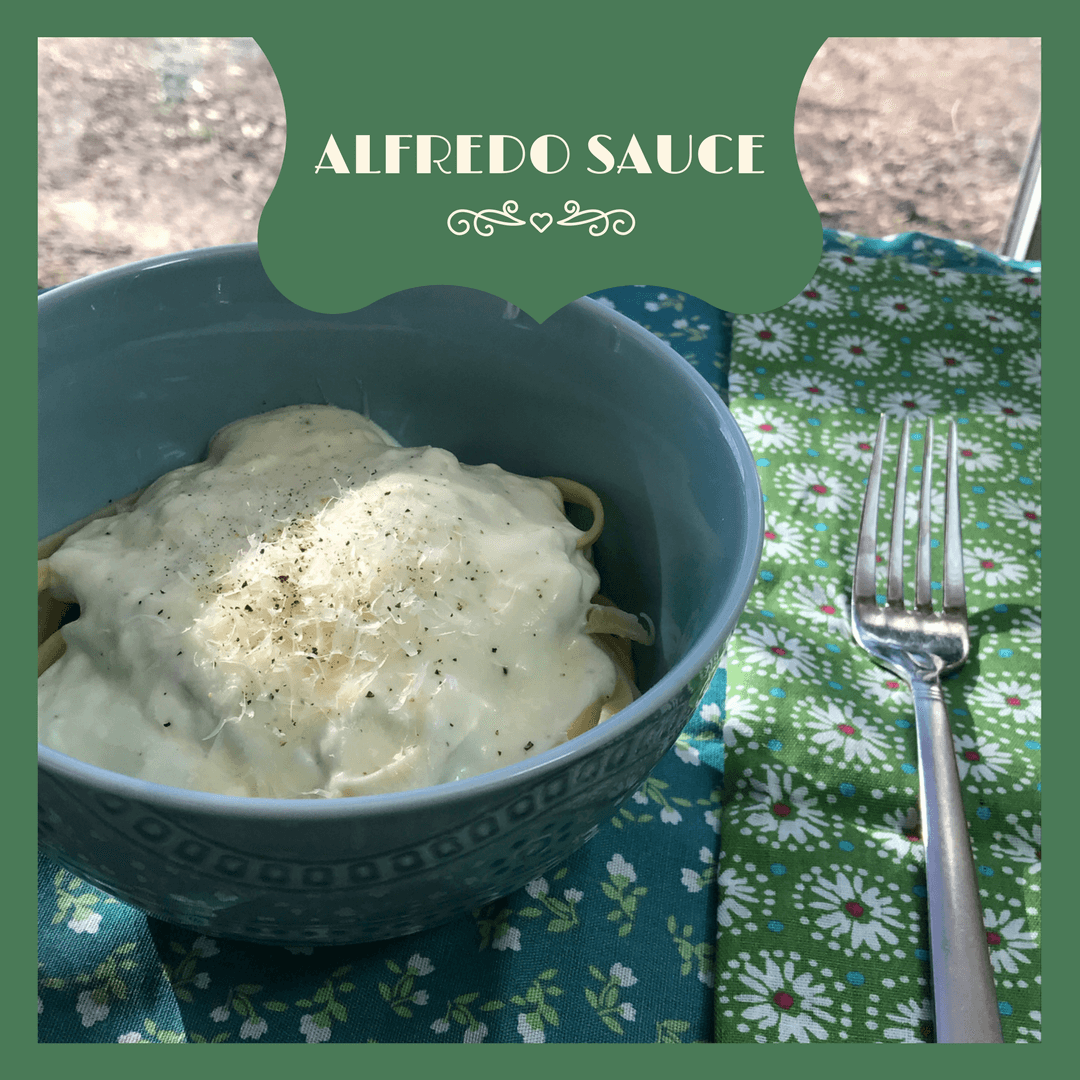 Simple Alfredo Sauce Recipe for the Creamiest Pasta Sauce EVER! You are a handful of ingredients and a few short minutes from carb Heaven.