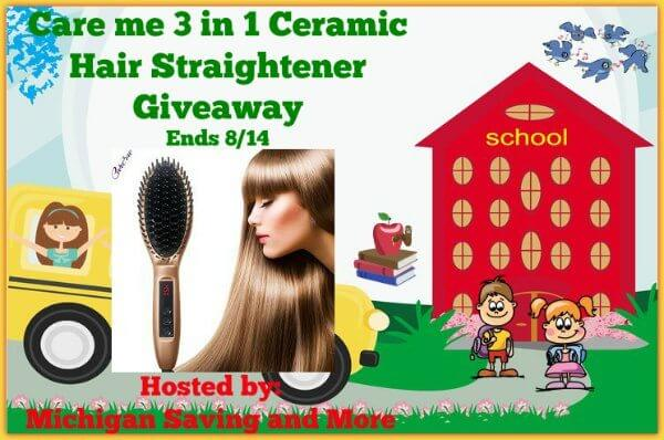 Care-me-3-in-1-Ceramic-Hair-Straightener-Giveaway
