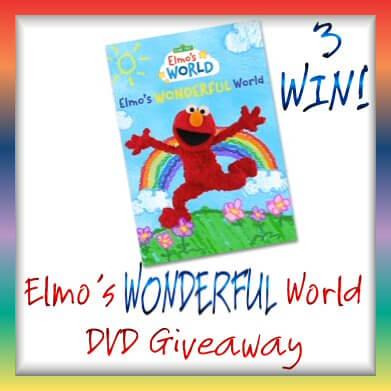 Sesame Street DVD giveaway