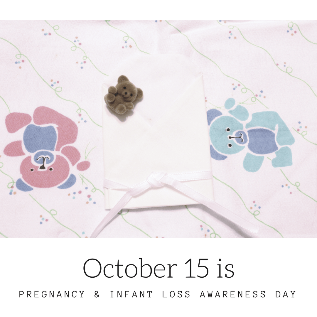 October 15 is Pregnancy & Infant Loss Awareness Day. Show your support by participating in the international wave of light.