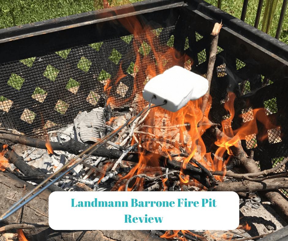 Landmann Barrone Fire Pit Review