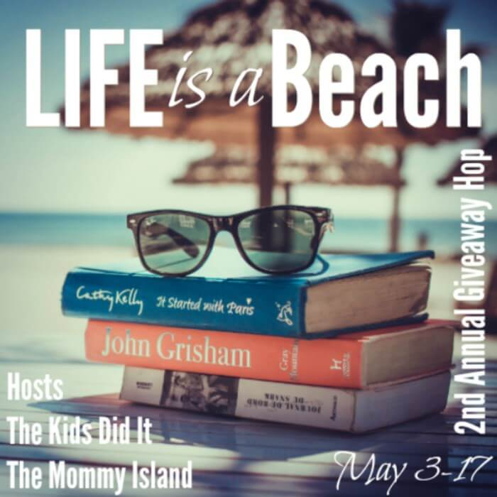 I just entered the Life is a Beach Giveaway Hop at Trisha Dishes. Fingers Crossed!