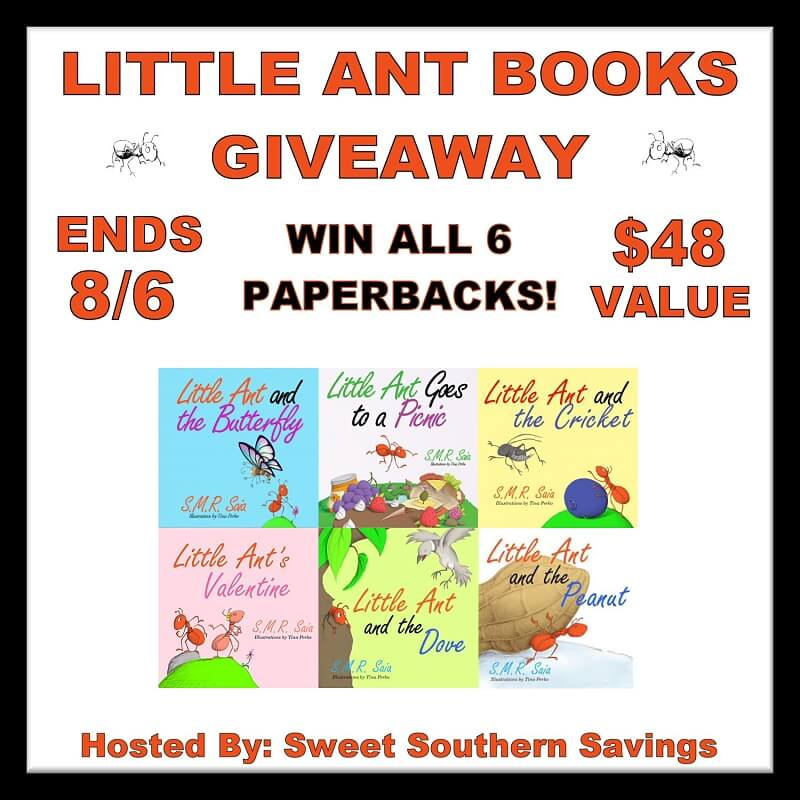 Little Ant Books Giveaway