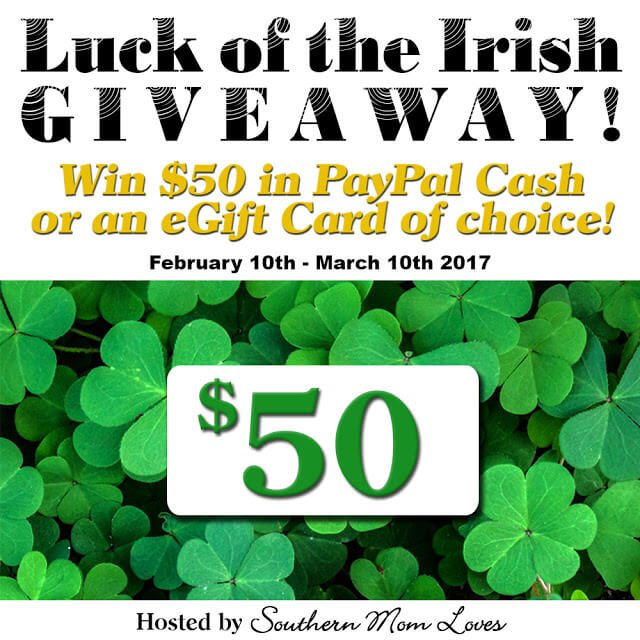 Have you entered the Luck of the Irish 2017 Giveaway yet?