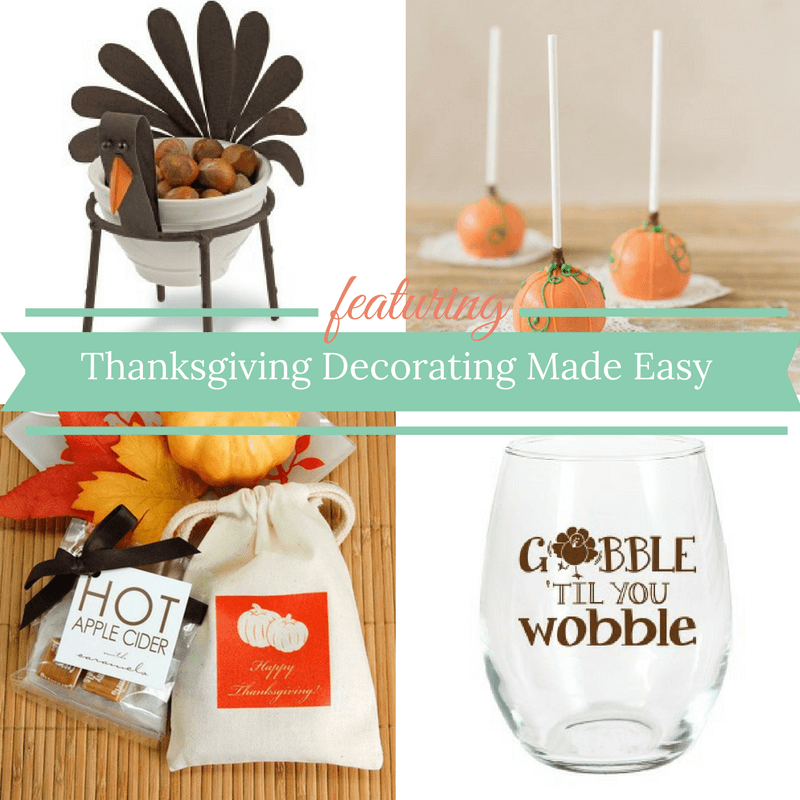 Thanksgiving Decorating Made Easy! Check out these fabulous ideas.