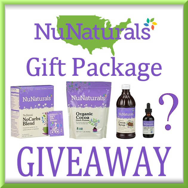 NuNaturals Gift Package Giveaway Ends Oct. 18, 2017