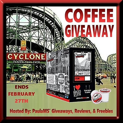 Have you entered for a chance to win this Cyclone Coffee Giveaway?