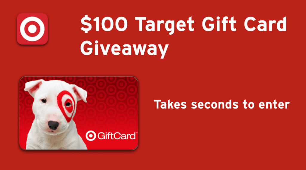 Have you entered to win $100 gift card for Target from Dropprice?