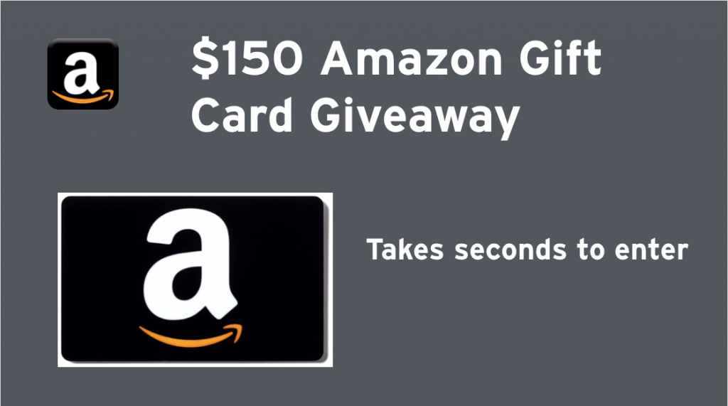 Have you entered to win $150 Amazon gift card from Dropprice? Hurry! Giveaway ends Feb. 7, 2017.