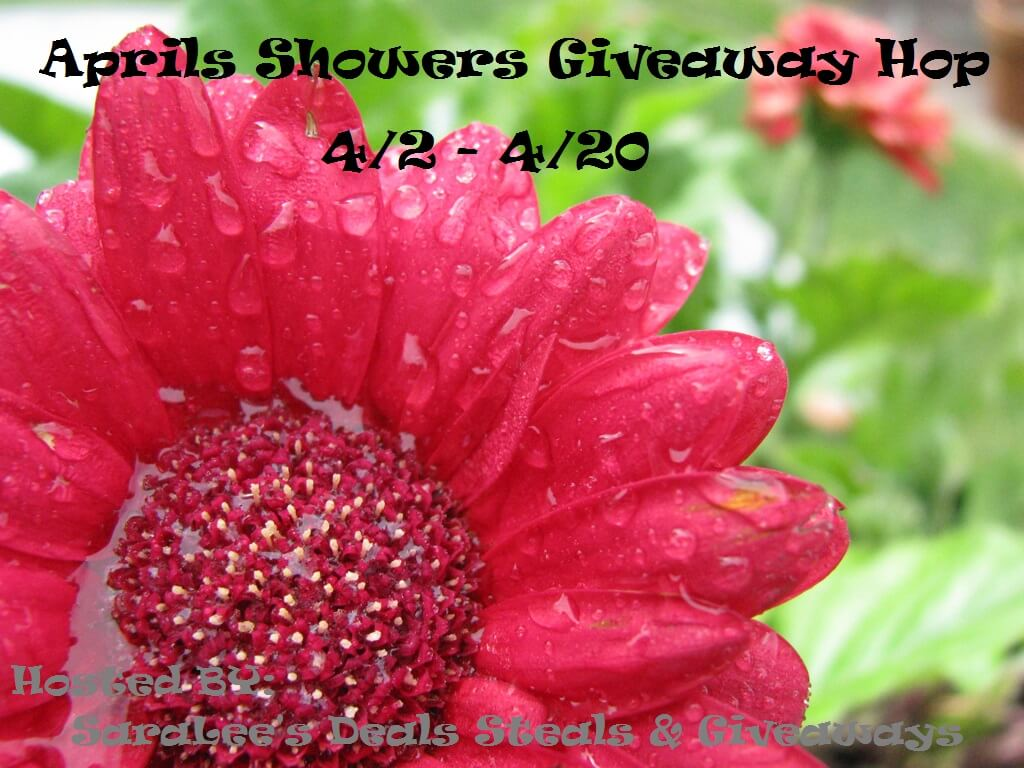 I am giving away a $10 Amazon gift card in the April Showers Giveaway Hop! Don't stop there! Hop on over to each of the other blogs for more chances to win great prizes.