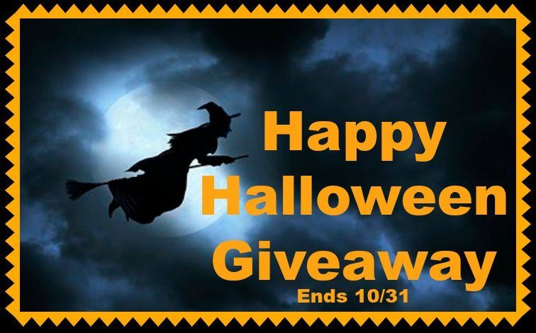 Have you entered the Happy Halloween Giveaway yet?