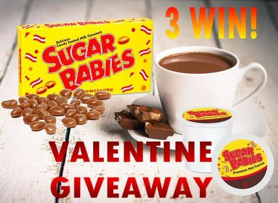Have you entered the Sugar Babies Cocoa Valentine Giveaway yet?